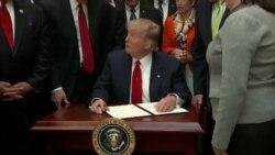 Трамп потпиша мерки за поттикнување на жените во кариери во науката и бизнисот