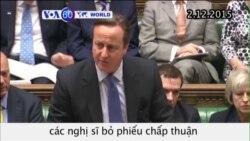 Thủ tướng Anh hối thúc chấp thuận không kích IS (VOA60)