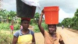 Escassez de água em São Tomé
