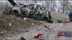 """ОБСЄ: автомобіль місії підірвався на міні, в районі під контролем так званої """"ЛНР"""". Відео"""