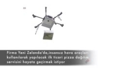 Yeni Zelanda'da İnsansız Hava Aracı ile Pizza Dağıtımı Başlıyor