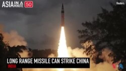 India's Long Range Missile Can Strike All of China