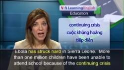 Anh ngữ đặc biệt: Sierra Leone Radio Schools (VOA)