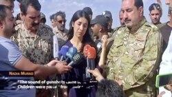 Yazidi IS Survivor Makes Emotional Return Home