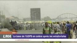 Les militants de l'UDPS en colère après les sénatoriales