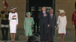 2019-06-03 美國之音視頻新聞: 特朗普週一正式在英國進行國事訪問