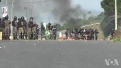 Affrontements à Libreville