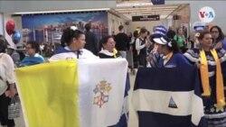 Arzobispo de Managua visita Miami antes del Vaticano