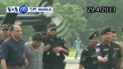 Chủ tòa nhà làm gần 400 người tử vong ở Bangladesh bị bắt (VOA60)