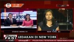 Laporan Langsung VOA untuk iNews: Ledakan di New York