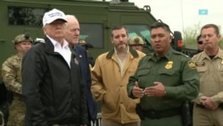 Трамп побывал на границе с Мексикой