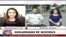 Kunjungan ke Google: Delegasi Indonesia Bertemu Sergery Brin