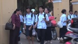 No Cheating in Exam Finals Marks Sea Change for Cambodia