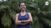 Luz Elena Sequeira, la primera nicaragüense en convertirse en ultramaratonista,en entrevista con la Voz de América. Foto: Donaldo Herández - VOA.