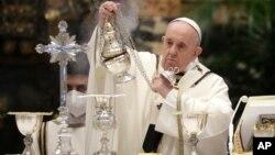 ပုပ္ရဟန္းမင္းႀကီး Francis. (ဧၿပီ ၁၊ ၂၀၂၁)