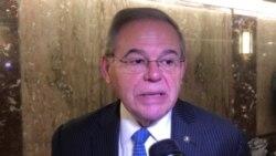 """Senador Menéndez: Nicaragua y Venezuela """"son muy preocupantes"""""""