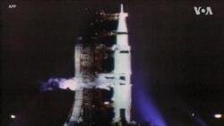 """ย้อนฟัง รายงานภารกิจเหยียบดวงจันทร์ของ""""อะพอลโล11""""โดยVOAเมื่อ50ปีก่อน"""
