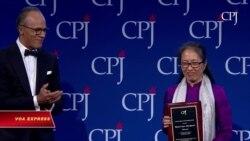 Blogger Mẹ Nấm nhận Giải thưởng Tự do Báo chí Quốc tế 2018