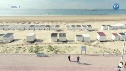 Fransa'da Bazı Plajlar Kısıtlamalar Eşliğinde Açıldı