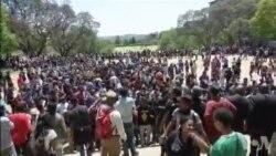 Nouvelles violences à la reprise des cours dans une université de Johannesburg (vidéo)