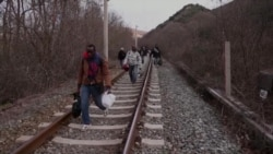 Migrants Trek Through Western Balkans to Reach EU