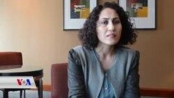 Hunermenda Kurd Aynur li Bostonê Xelat Wergirt