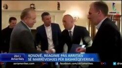 Kosovë, reagimet ndaj marrëveshjes për bashkëqeverisje