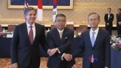 美日韓官員會談 同意加強努力使北韓非核化
