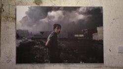 Li Silêmanî Pêşangeha Fotoyên Cengên Îraq û Sûrîyê