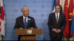 UN SC President Koro Bessho Terrorism is Criminal Despite Motivation
