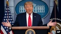 Tổng thống Donald Trump.