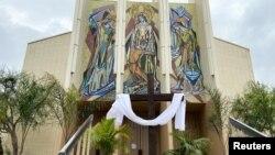 Một nhà thờ ở Long Beach, California bị đóng cửa trong đợt dịch Covid-19
