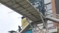 فضای امنیتی در تهران، پنج روز بعد از آغاز اعتراضهای گسترده در ایران