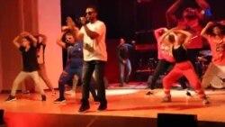 Amerikalı repçi Azərbaycanda konsert verib