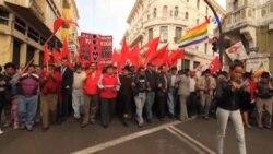 Protestas en Ecuador serán penalizadas