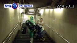 'Siêu anh hùng' xuất hiện tại Nhật Bản (VOA60)