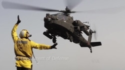 US Adds More Troops, Apaches to Fight Islamic State