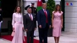 Donald Tramp İordaniya kralı ilə görüşüb