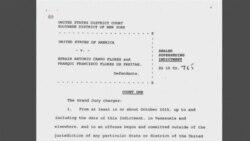 La Casa Blanca confirma detención de familiares de Maduro