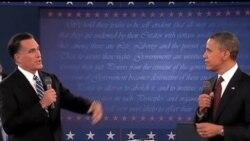 """2012-10-22 美國之音視頻新聞: """"中國崛起""""納入今晚總統辯論議題"""