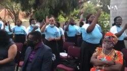Singing, Dancing for President Chakwera