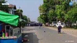 Myanmar'da Güvenlik Güçlerine Direnen Rahibe