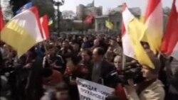 درگیری جدایی طلبان با نیروهای گارد ملی اوکراین