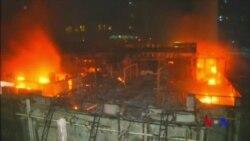 印度孟買市中心火災造成15人喪生