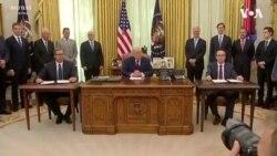 Donald Tramp o sporazumu koji su potpisali Srbija i Kosovo