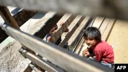 Según un informe de Naciones Unidas, un alto porcentaje de los niños en Guatemala padece desnutrición crónica. [Foto de archivo]