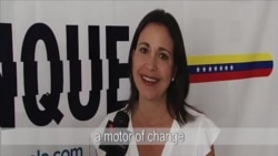 María Corina Machado: Women Have Been a Motor of Change