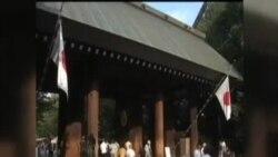 日本首相安倍晉三獻祭靖國神社