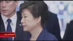Bà Park Geun-hye chính thức bị buộc tội tham nhũng