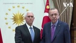 ԱՄՆ փոխնախագահը հանդիպել է Թուրքիայի նախագահի հետ